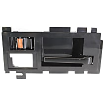 Front, Passenger Side Interior Door Handle, Smooth Black