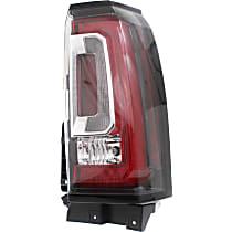 Tail Light Assembly Compatible with 2015-2018 GMC Yukon//Yukon XL CAPA Passenger Side