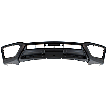Front, Lower Bumper Cover, Primed, CAPA CERTIFIED