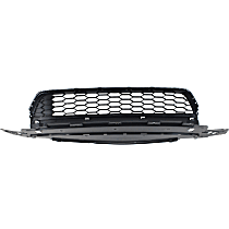 Bumper Grille, Textured Gray