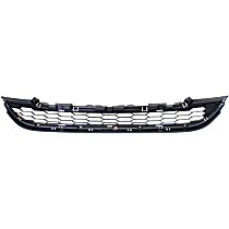 Lower Bumper Grille, Gray Shell and Insert