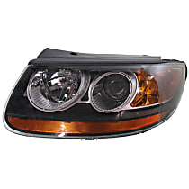 Driver Side Headlight, With bulb(s) - From 7-11-07
