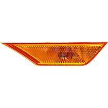 CAPA Certified Front, Passenger Side Side Marker, With bulb(s)