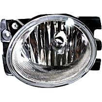 Fog Light Lens and Housing - Passenger Side, Factory Installed