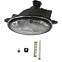 Fog Light Assembly - Driver Side, Dealer Installed