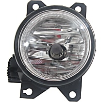 Fog Light Assembly - Driver Side, Except Type R Model