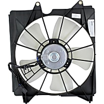 Radiator Fan - 5 Fan Blades, Driver Side, V6 Engine Models