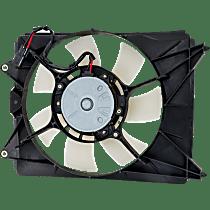 Radiator Fan Assembly - Passenger Side, Coupe/(Sedan Denso-type)