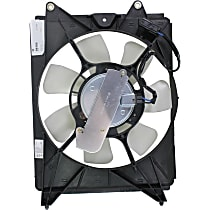 OE Replacement Radiator Fan - Fits 1.8L/2.4L, Denso-type, Passenger Side