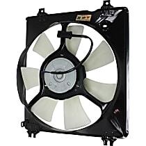 A/C Condenser Fan - 7 Fan Blades, Passenger Side, V6 Engine Models