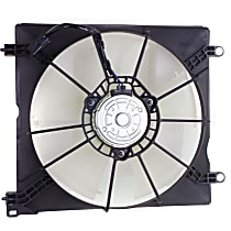 OE Replacement Radiator Fan - Fits 4 Cyl, Driver Side