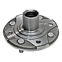 Front Wheel Hub, Driver or Passenger side