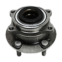 Front or Rear, Driver or Passenger Side Wheel Hub and Bearing Assembly, For FWD and AWD