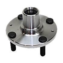 Front, Driver or Passenger Side Wheel Hub Without Bearing - Sold individually