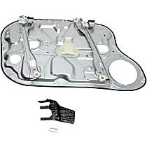 Front, Passenger Side Power Window Regulator, Without Motor, Sedan - 2007-09 Hyundai Elantra Sedan