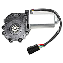 Front, Driver Side Window Motor, New - Honda Civic 96-00 Coupe Hatchback/Accord 98-02 Coupe