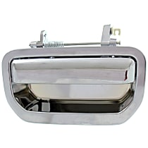 Tailgate Handle, Chrome