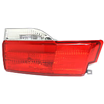 Passenger Side, Inner Tail Light, With bulb(s) - Clear & Red Lens