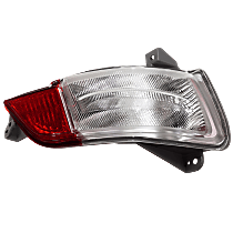 Replacement Back Up Light - REPH731307 - Passenger Side, Direct Fit