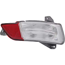Replacement Back Up Light - REPH731307Q - Passenger Side, Direct Fit, CAPA Certified