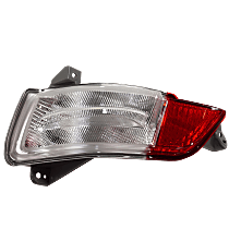 Replacement Back Up Light - REPH731308 - Driver Side, Direct Fit