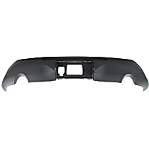 Rear Valance, Skid Plate Garnish, Textured - w/ Trailer Hitch Hole, for EX/EX-L/LX Models, CAPA CERTIFIED