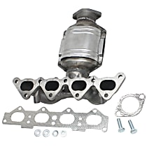 Front Catalytic Converter with Integrated Exhaust Manifold For Models with Straight Outlet 2.0L Eng 46-State Legal (Cannot ship to CA, CO, NY or ME)