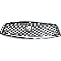 Grille Assembly - Primed Shell and Insert, with Front View Camera