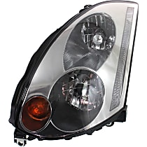 Driver Side HID/Xenon Headlight, Without bulb(s) - Coupe