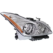 Passenger Side HID/Xenon Headlight, With bulb(s) - Convertible/Coupe