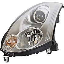 Driver Side HID/Xenon Headlight, With bulb(s) - Coupe