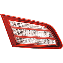 Driver Side Tail Light, With bulb(s)