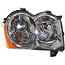 Headlight - Passenger Side, HID/Xenon, SRT Option Group 2, Chrome Trim
