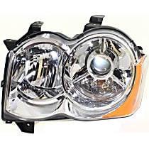 Headlight - Driver Side, HID/Xenon, SRT Option Group 2, Chrome Trim