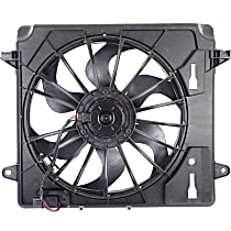 OE Replacement Radiator Fan - w/ Resistor and Factory Air