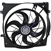 Radiator Fan - Fits 3.7L, Includes Shroud