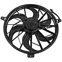Radiator Fan - Fits 4.0L, w/o Tow Pckg., Excludes Fan Shroud