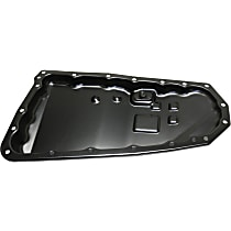 Replacement REPJ318601 Transmission Pan - Black, Steel, Direct Fit, Sold individually