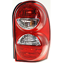 Passenger Side Tail Light, With bulb(s) - w/o Tail Lamp Guard, Exc. Renegade Model
