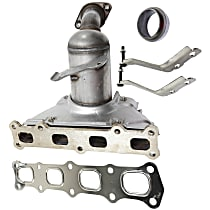 Catalytic Converter Front, For 4WD Models with 2.4L Eng California Emissions 47-State Legal (Cannot ship to CA, NY or ME)