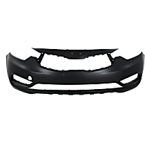Front Bumper Cover, Primed, Sedan - (Hatchback EX Model), CAPA CERTIFIED