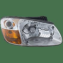 Sedan, Passenger Side Headlight, With bulb(s) - New Body Style