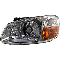 Sedan, Driver Side Headlight, With bulb(s) - New Body Style
