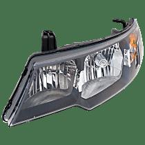 Driver Side Headlight, With bulb(s) - Hatchback/Sedan