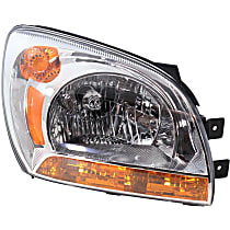 Passenger Side Headlight, With bulb(s) - Type 1