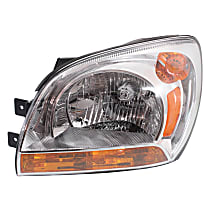 Driver Side Headlight, With bulb(s) - Type 1
