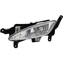 Fog Light Assembly - Driver Side, Except Hybrid Model