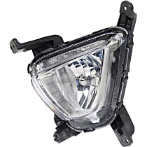Fog Light Assembly - Driver Side, Except SX Model