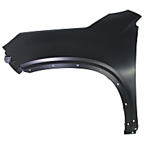 Fender - Front, Driver Side, with Side Garnish Holes, CAPA CERTIFIED