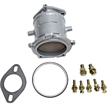 Front Firewall Side Precat Catalytic Converter For Models with 3.0L and 3.5L Eng 46-State Legal (Cannot ship to CA, CO, NY or ME)
